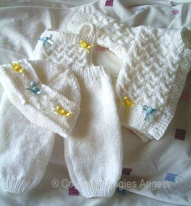 Free Knitting Patterns Reborn Dolls : Angies Angels patterns - exclusive designer knitting and ...
